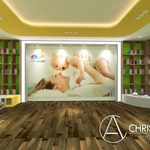 Baby bright library